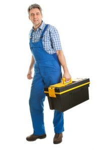 Mouse exterminator with toolbox