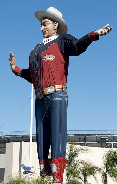 Big Tex at the Dallas State Fair