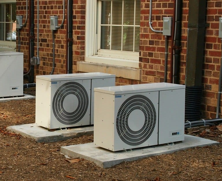 Sealing off entry points between AC units and pipes