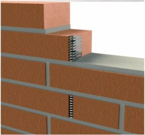 Stainless Steel Weephole Cover in Brick
