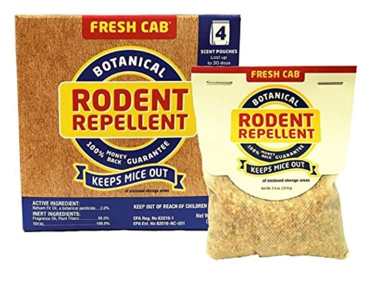 Fresh Cab Rodent Repellent Review A Clean Fresh Mouse