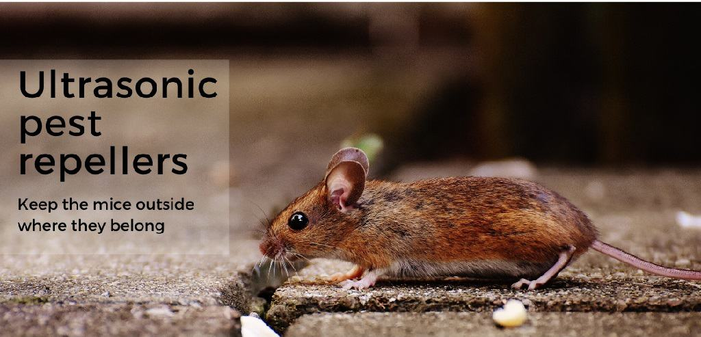 Ultrasonic pest repellers - keep the mice outside where they belong